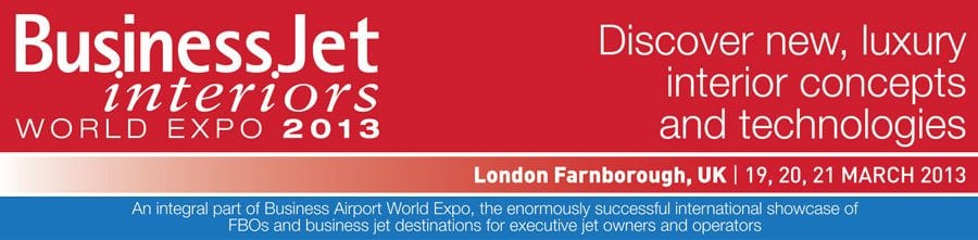 Visit Us At The Business Jet Farnborough Show  MARCH 19-21 2013